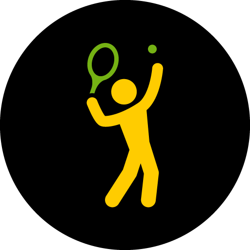Tennis Serve Icon