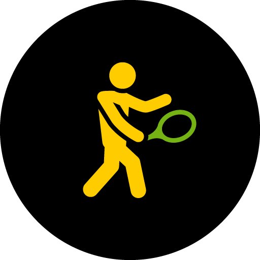 One-Handed Backhand Icon