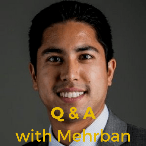 Q & A with Mehrban