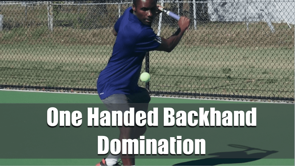 One-Handed Backhand Course